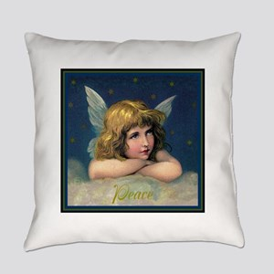 Peace Angel Everyday Pillow