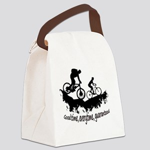 Mountain Biking Good Time Inspira Canvas Lunch Bag