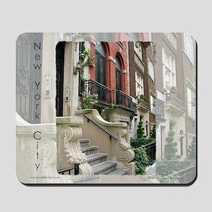 New York City Row House Mousepad