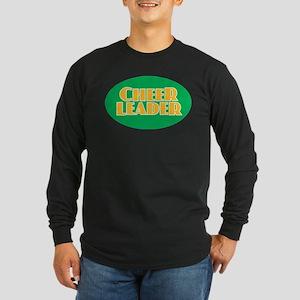Cheerleader - Green and Gold Long Sleeve T-Shirt