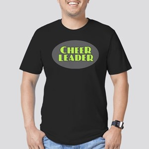 Cheerleader - Gray and Lime T-Shirt
