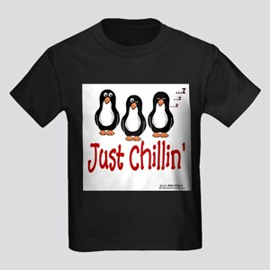 Penguins Chillin' Ash Grey T-Shirt