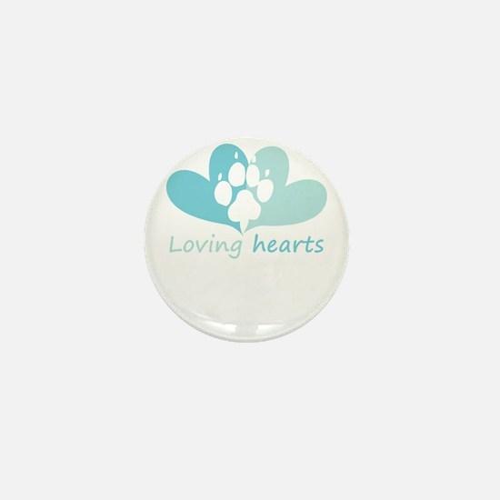 lovign hearts Mini Button