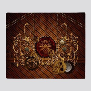 Steampunk, elegant design with clocks and gears Th