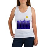 305b. mountains [color] Women's Tank Top