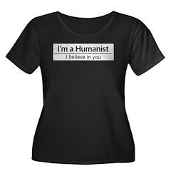 I'm a Humanist Plus Size T-Shirt