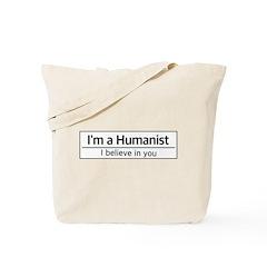 I'm a Humanist Tote Bag