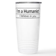I'm a Humanist Travel Mug