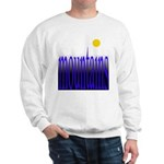 305b. mountains [color] Sweatshirt