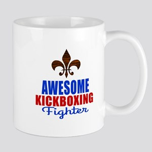 Awesome Kickboxing Fighter Mug