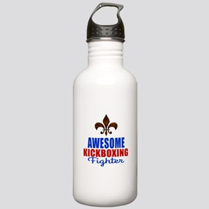 Awesome Kickboxing Fig Stainless Water Bottle 1.0L