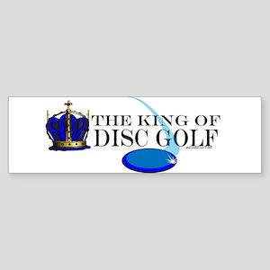 King of Disc Golf2 Bumper Sticker