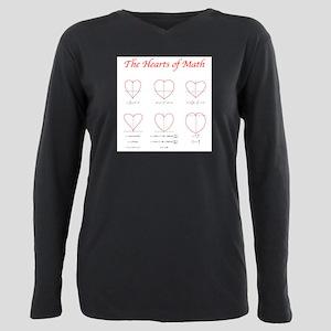 Hearts Curves/Surface Light Color T-Shirt