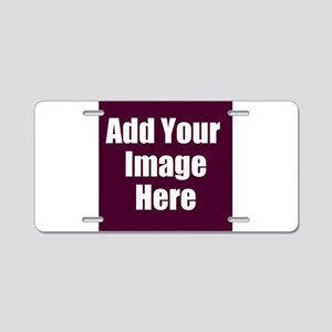 Add Your Image Here Aluminum License Plate