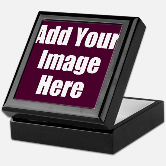 Add Your Image Here Keepsake Box