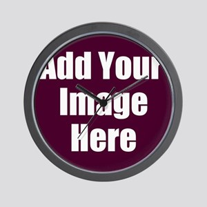 Add Your Image Here Wall Clock