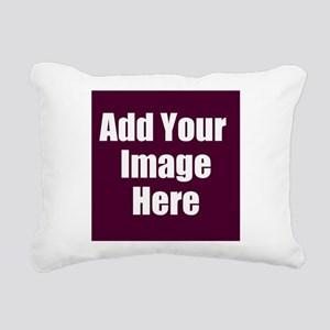 Add Your Image Here Rectangular Canvas Pillow