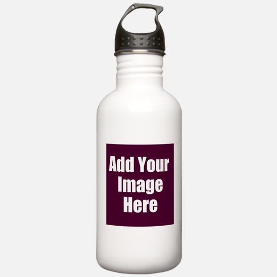 Add Your Image Here Water Bottle