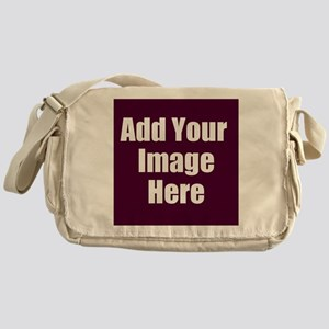 Add Your Image Here Messenger Bag