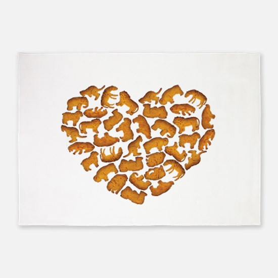 Animal Crackers 5'x7'Area Rug