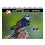 2017 Wsf Wall Calendar: Birds