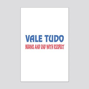 Vale Tudo Begins and end with re Mini Poster Print