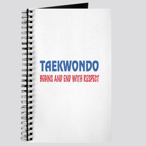 Taekwondo Begins and end with respet Journal