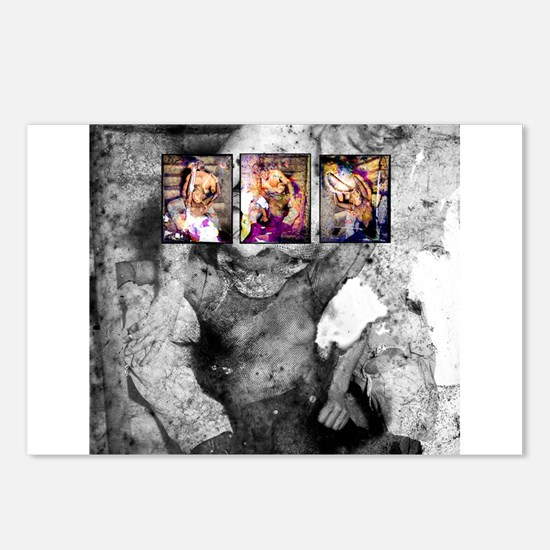 HOLD ME Postcards (Package of 8)