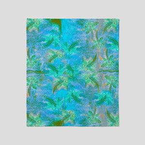 Opal Dragonfly Flight Throw Blanket