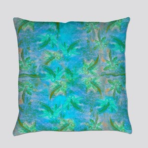 Opal Dragonfly Flight Everyday Pillow