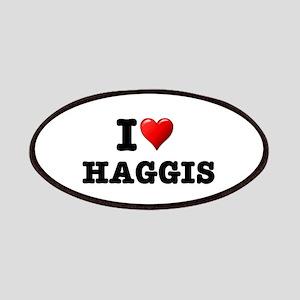 I LOVE - HAGGIS Patch