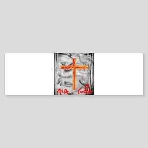 MEA CULPA Bumper Sticker