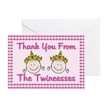 Twincesses Thank You Card
