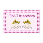 The Twincesses Mini Poster Print