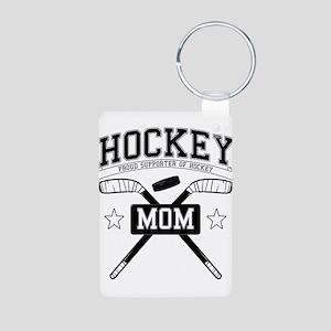 Hockey mom Keychains