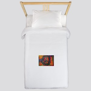 Rustic peace Twin Duvet