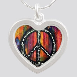 Rustic peace Necklaces