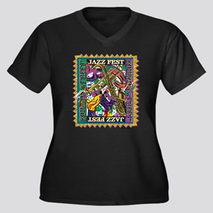 Jazz Fest Plus Size T-Shirt