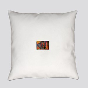 Rustic peace Everyday Pillow