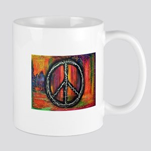 Rustic peace Mugs