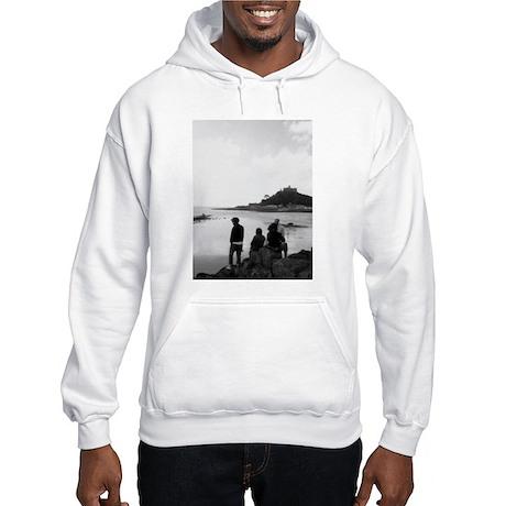 St. Michael's Mount, Cornwall Hooded Sweatshirt