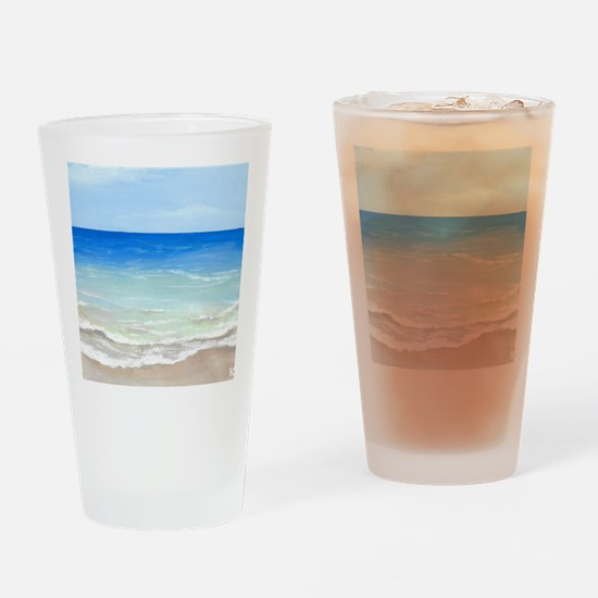 Cool Beach Drinking Glass