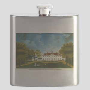 A View of Mount Vernon Flask