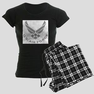USAF-Symbol-Gray-With-Curved- Pajamas