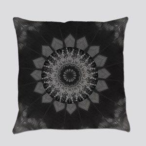 Coloured Gravel in Charcoal Everyday Pillow