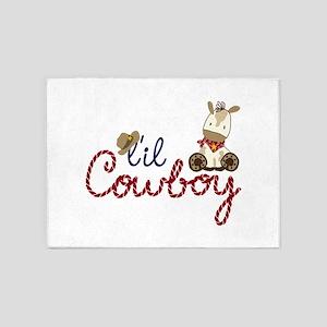 Lil Cowboy 5'x7'Area Rug