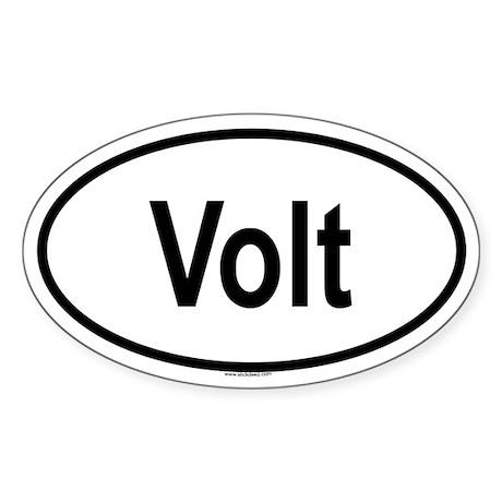 VOLT Oval Sticker