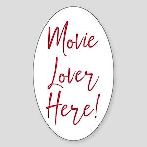 Movie Lover Sticker