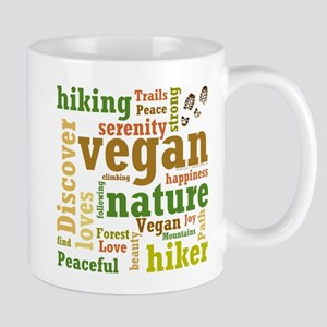 Vegan Hiker Happiness Mugs
