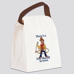 Trump New Sheriff 2017 Canvas Lunch Bag